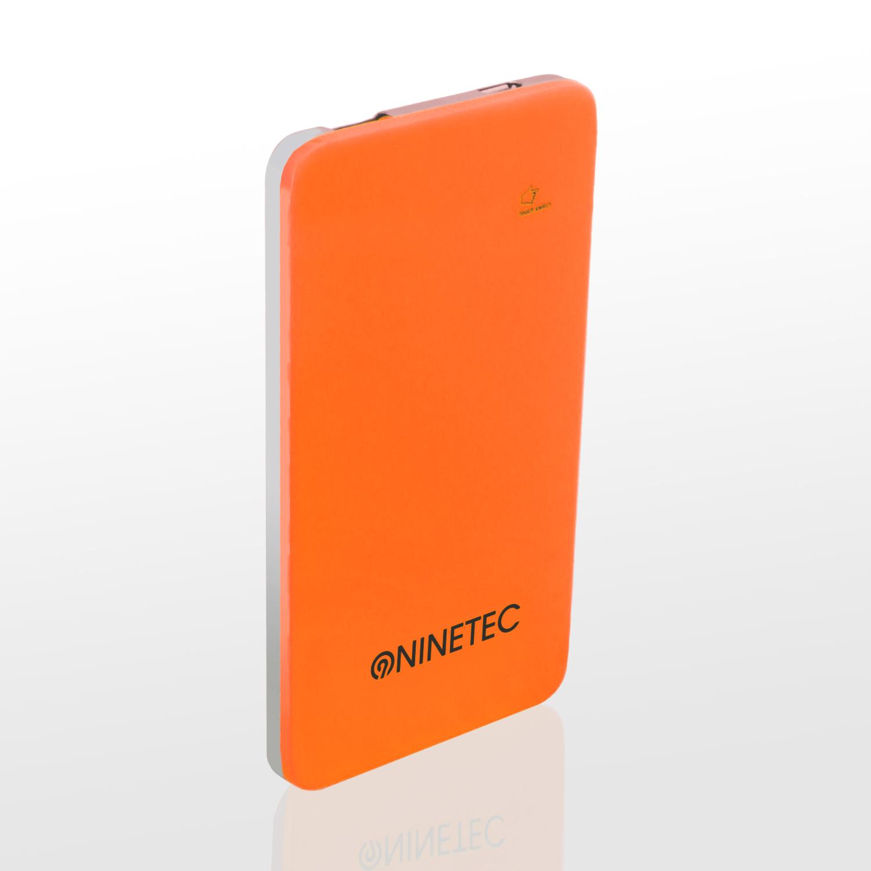 NINETEC 5.000mAh PowerBank Externer Akku orange NT004