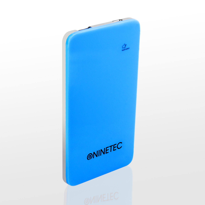 NINETEC 5.000mAh PowerBank Externer Akku blau NT004