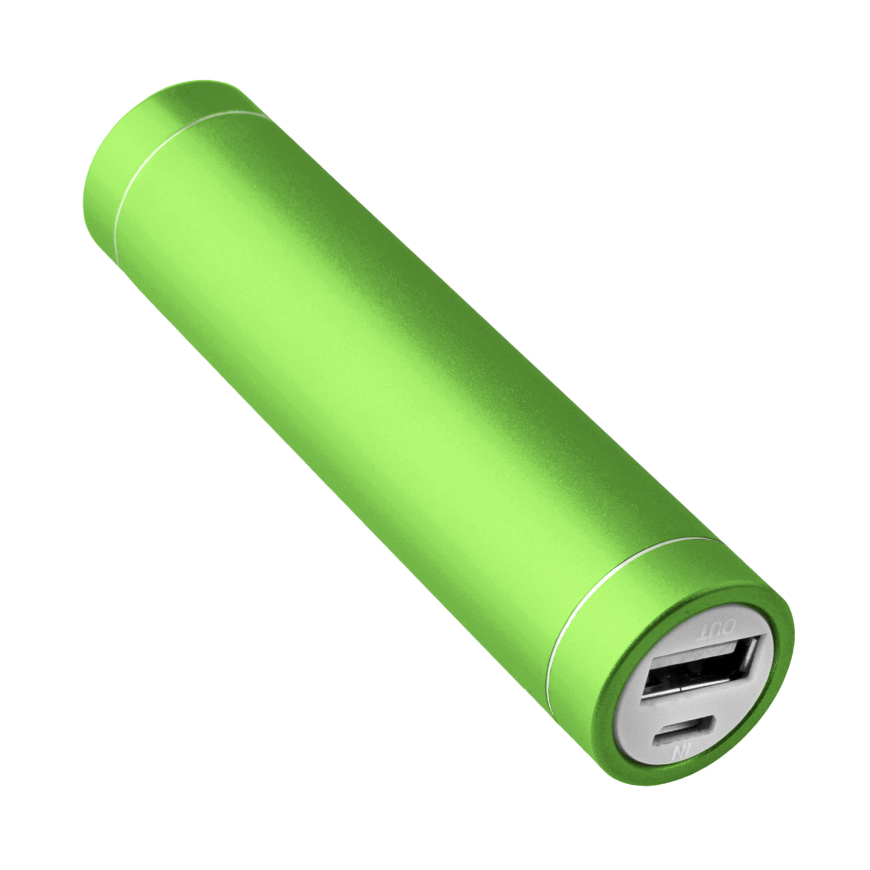 NINETEC 2.600mAh PowerBank Externer Akku grün NT003