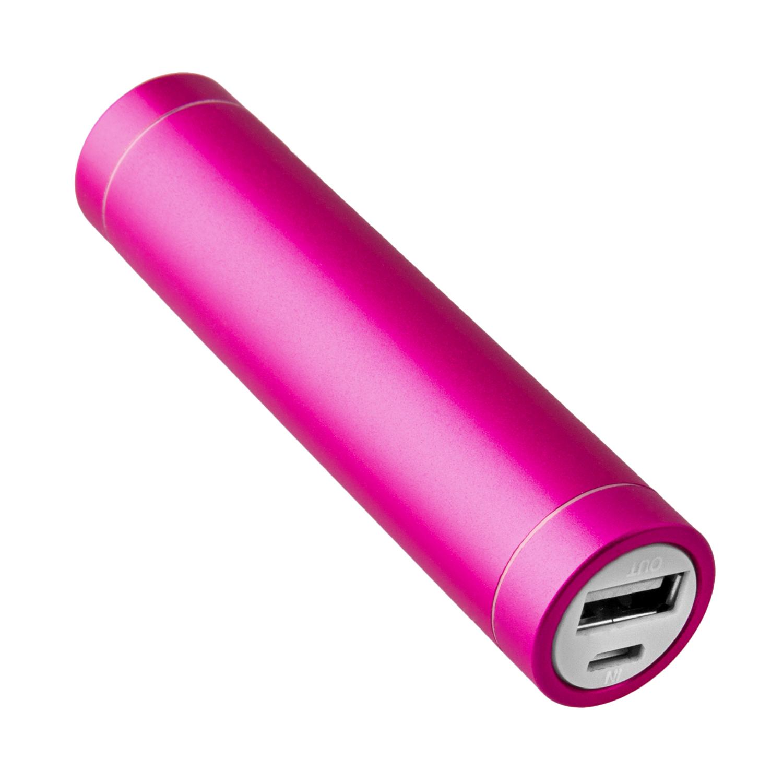 NINETEC 2.600mAh PowerBank Externer Akku pink NT003