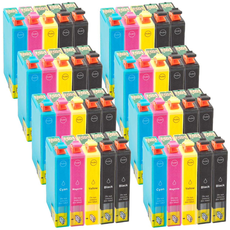 40 Druckerpatronen XXL für Epson T1291 - T1294