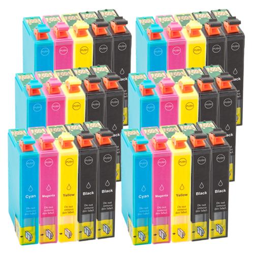30 Druckerpatronen XXL für Epson T1811 - T1814