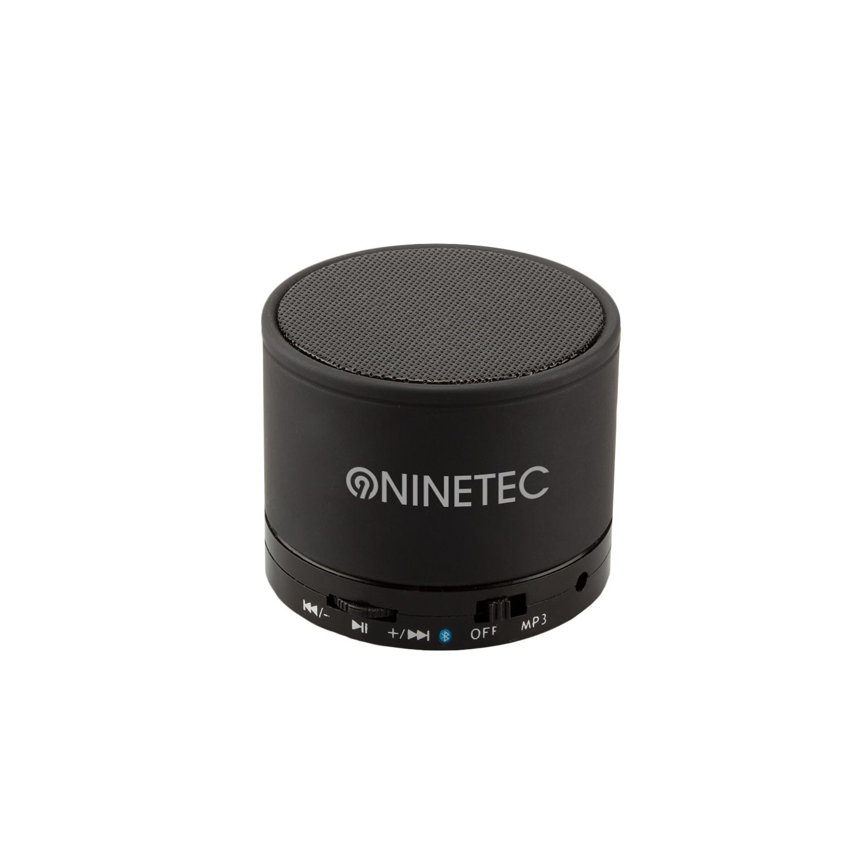 NINETEC BEATBLASTER Bluetooth Lautsprecher Speaker Schwarz