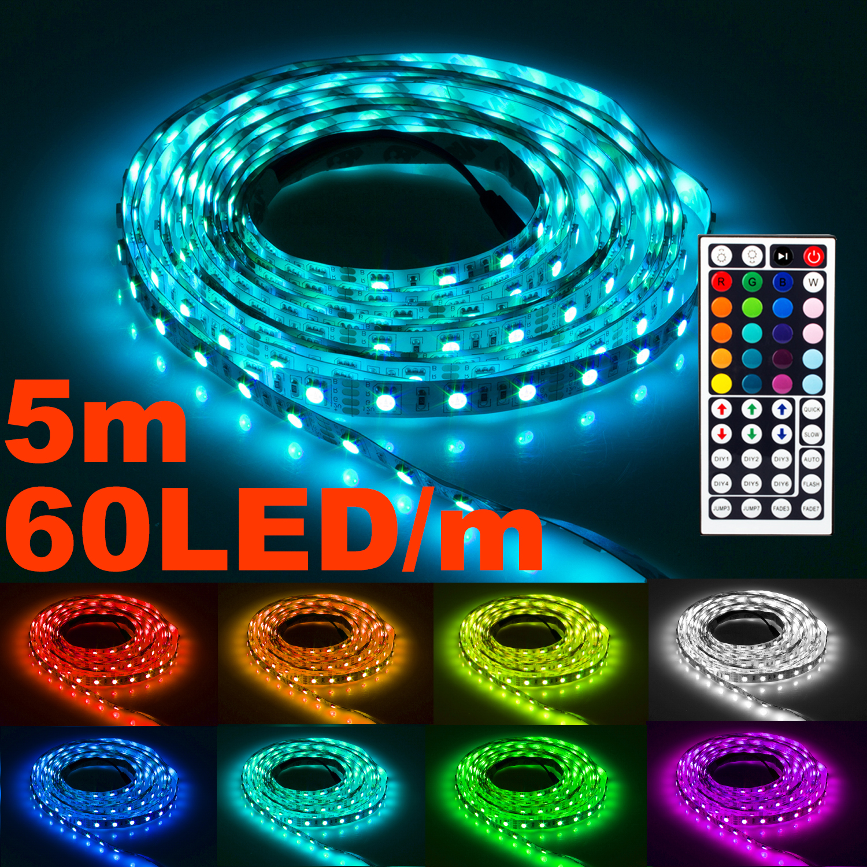 NINETEC Flash60 5m RGB LED Band 60 LED´s/m IP20